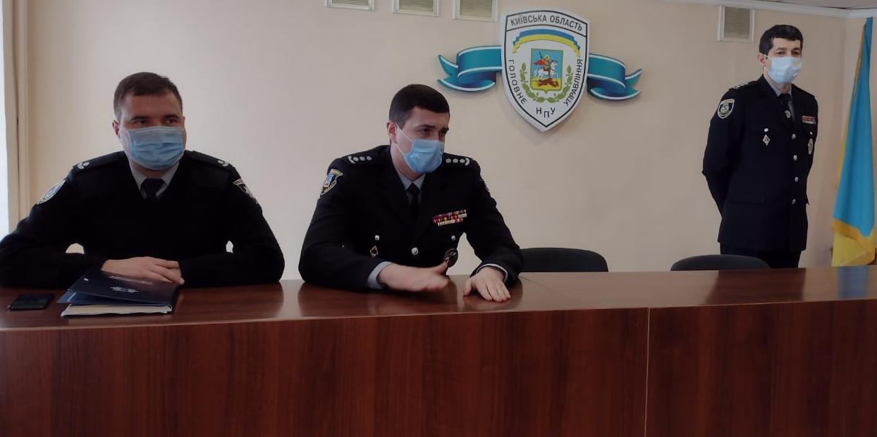 У Броварах – новий керівник поліції - призначення, Поліція, керівник, кадрові призначення - brovarypryznachennya
