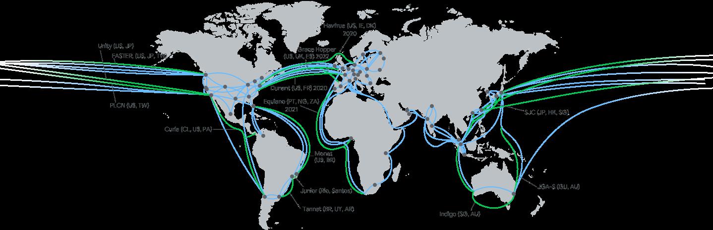 Google ввів у експлуатацію підводний кабель для високошвидкісної передачі даних між США та Європою - Кабель, google, Alphabet - edgepoint