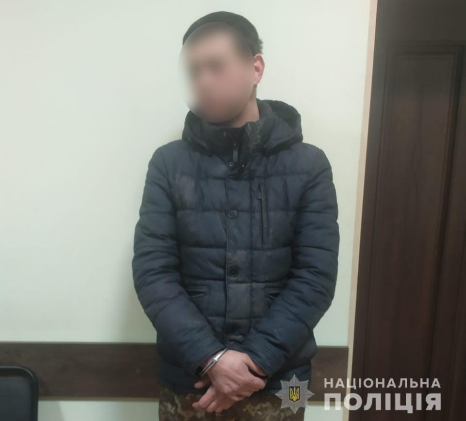 Під Києвом у Чабанах поліція завадила вкрасти кабель - Чабани, патрульні, крадій, крадіжка, Кабель - fastovkabel