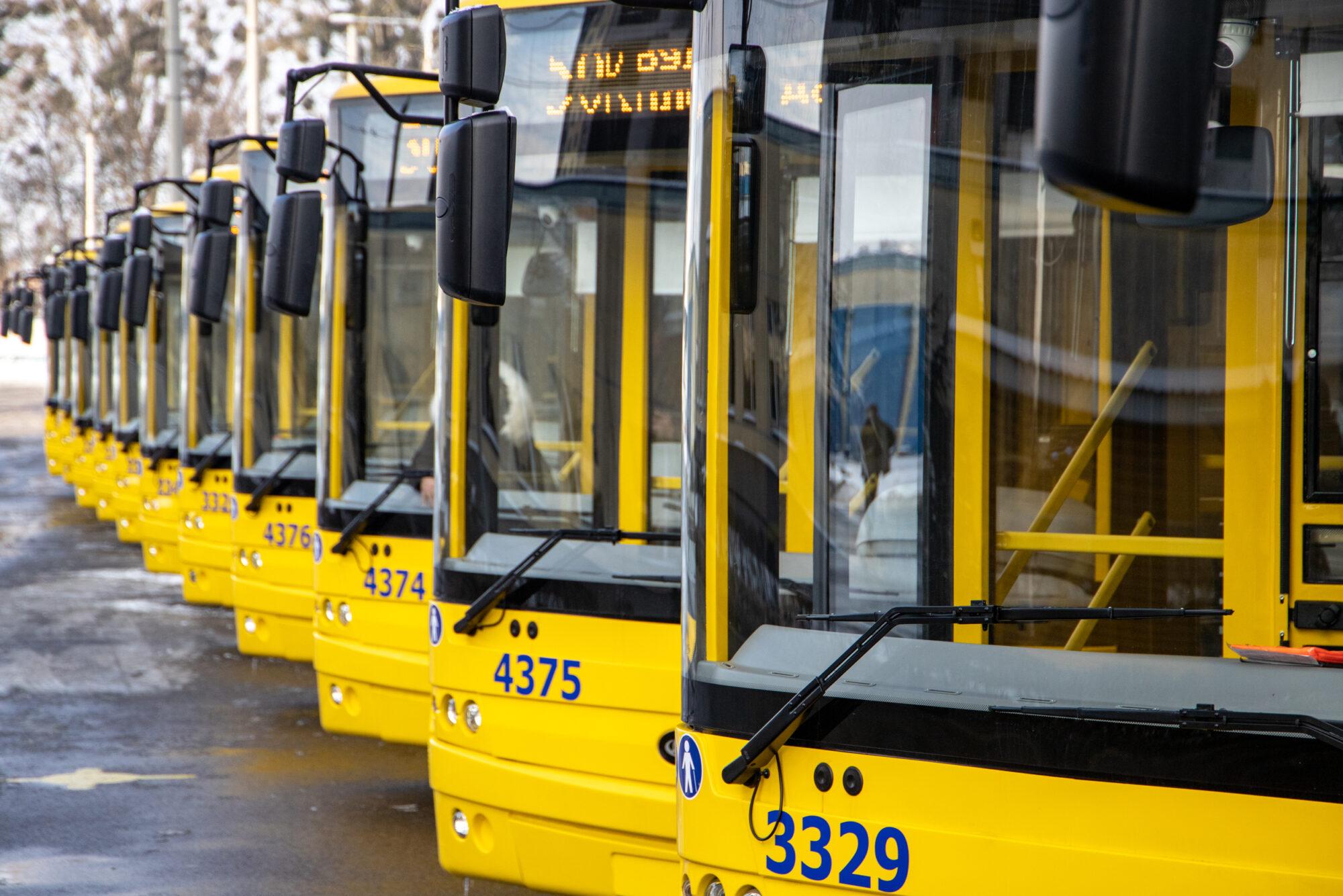 На дорогах Києва з'явились нові тролейбуси - тролейбуси, закупівлі, громадський транспорт - imgbig 2 2000x1334