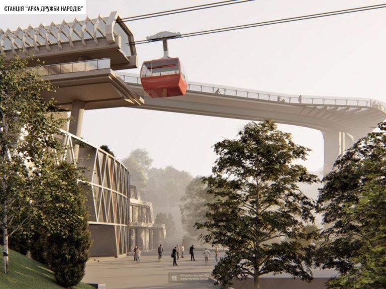 На архітектурну премію ЄС номінували 7 проєктів із Києва - столиця, проєкти, премія, архітектура - kanatna pereprava proekt 19.10.2020 1 768x575 1