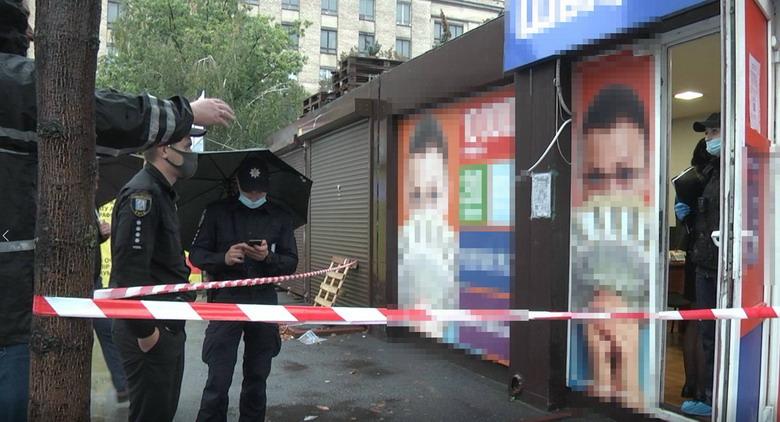 Київ: погрожував ножем - отримає до 12-ти років за гратами - розбійний напад, розбій, погрози, ніж - shevchrozb060221