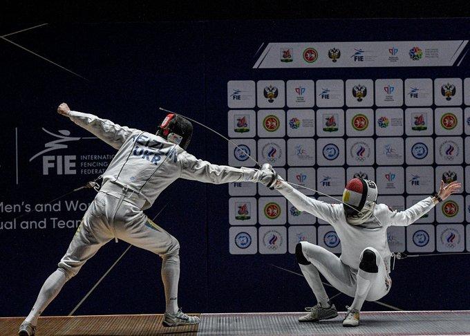 Шпажист із України виграв «золото» на Кубку світу в Казані - фехтування, золото, виграш - ExBVxHnXAAQjk1K
