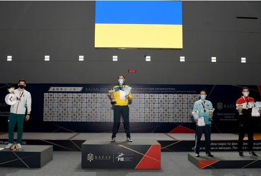 Шпажист із України виграв «золото» на Кубку світу в Казані - фехтування, золото, виграш - Screenshot 24