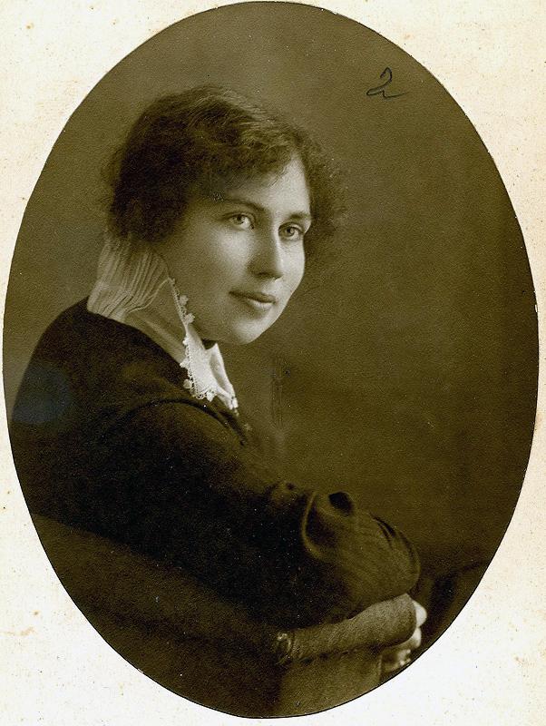 Надія Суровцева, українська громадська діячка, історик, 1914 рік.